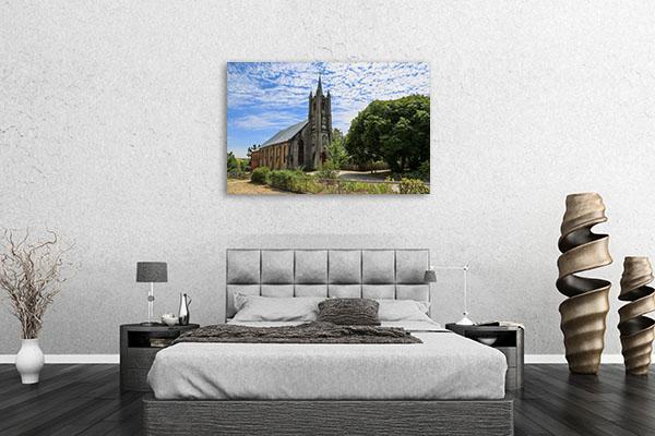 Beechworth St Andrew Church Canvas Art Prints