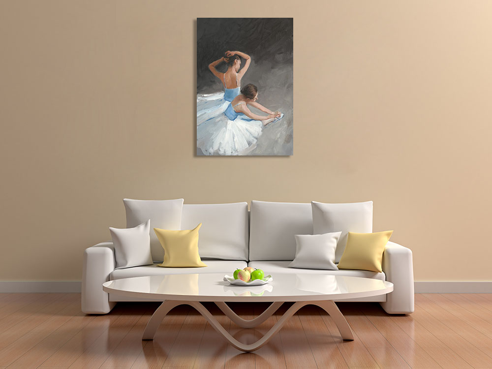 Figurative Contemporary Art Wall Print