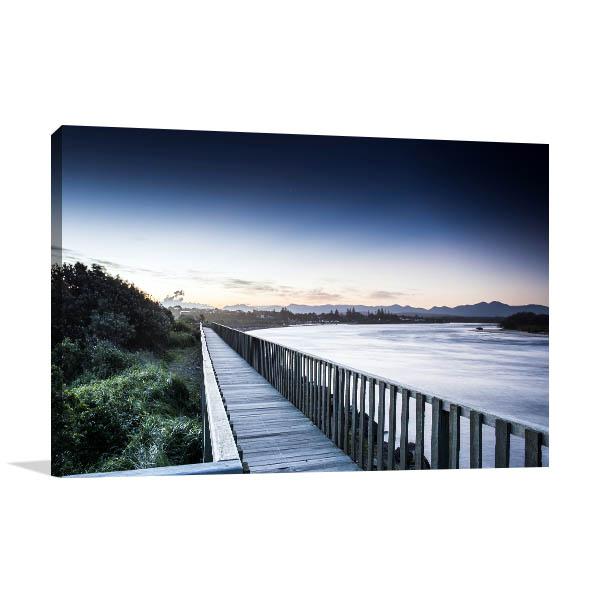 Bellingen Horizon Lake Canvas Art Prints
