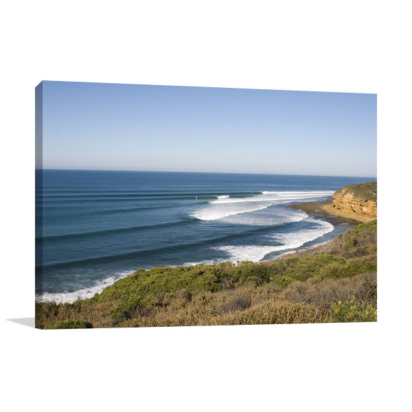 Bells Beach Art Print Surf and Wave Prints Canvas
