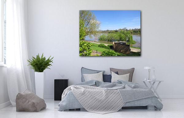 Belvoir Park Wodonga Canvas Art