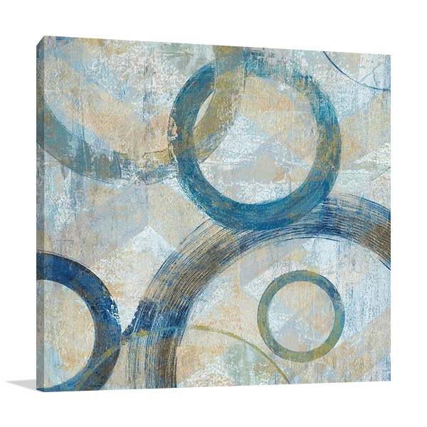 Bend I Print on Canvas | Tava Studios