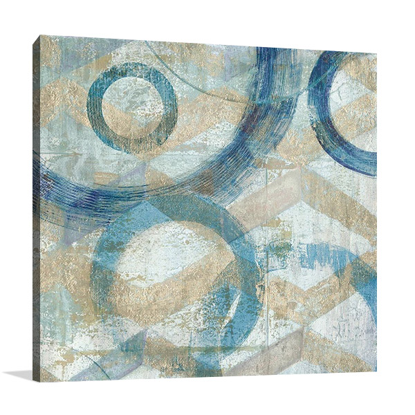 Bend II Wall Canvas Print | Tava Studios