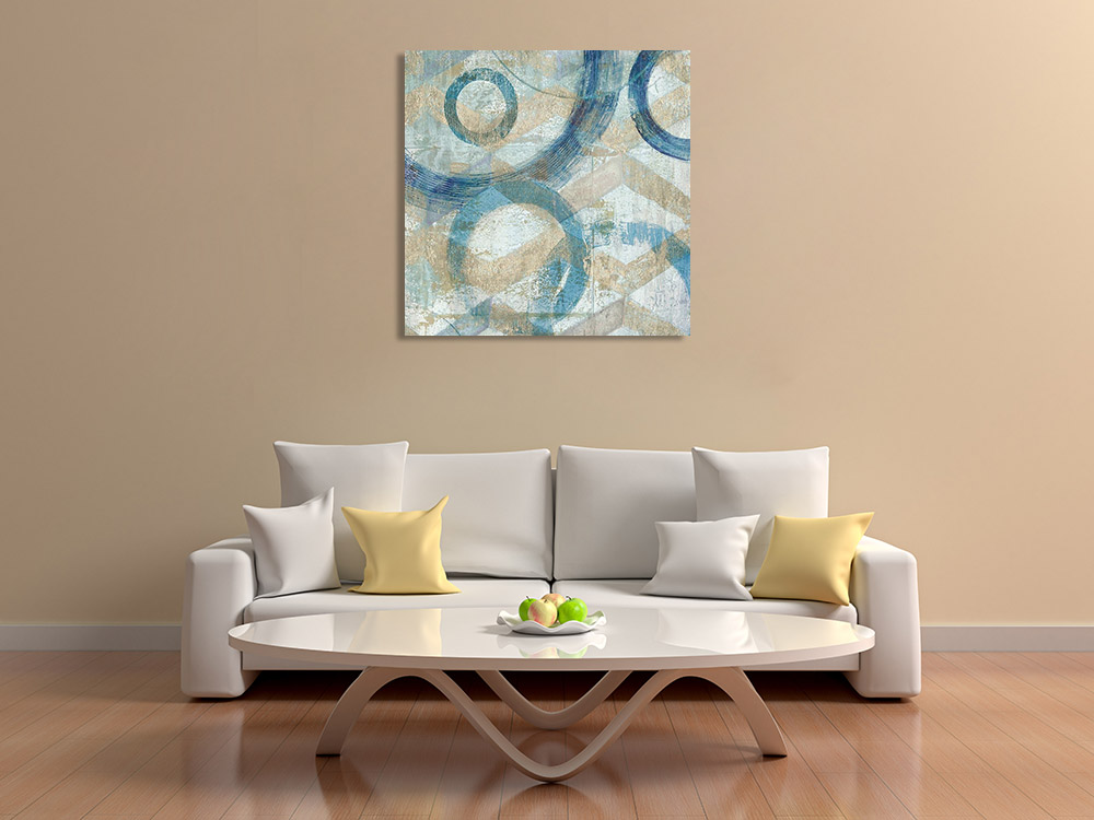 Contemporary Pattern Abstract Canvas Print