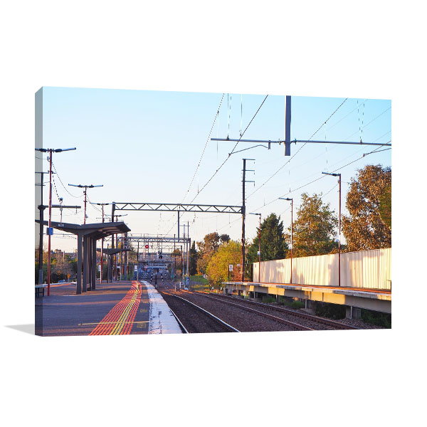 Bentleigh East Art Print Railway Station