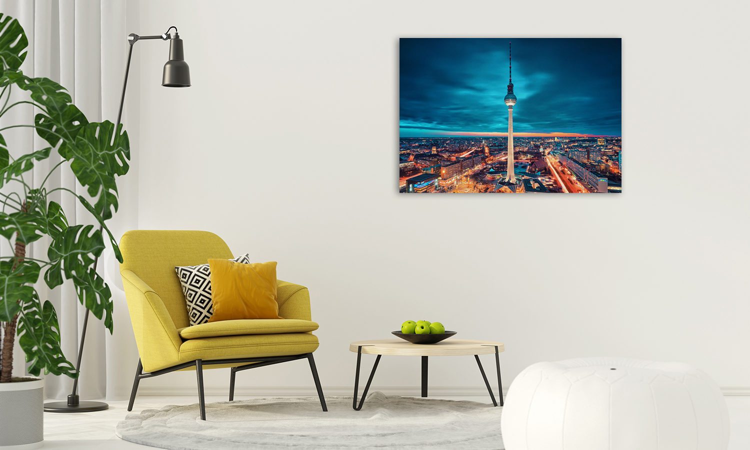Night Photography Canvas Print