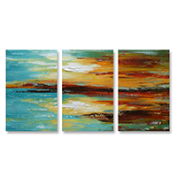 Hand Painted Bestseller Multi-Panel Oil Paintings on Canvas