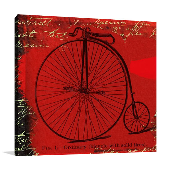 Bicycle II Canvas Print | Andrew Cotton
