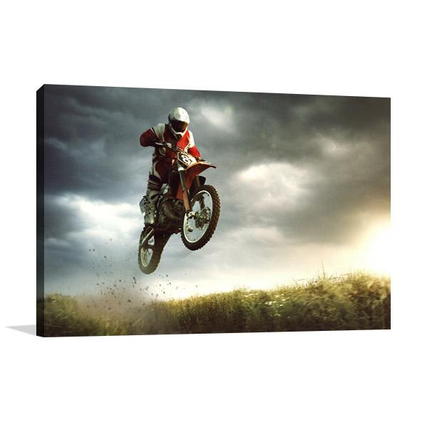 Biker Stunt Artwork