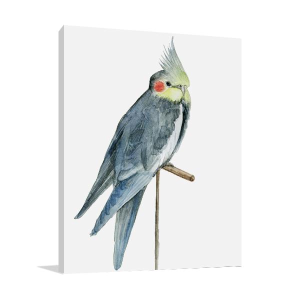 Bird I Wall Canvas Print