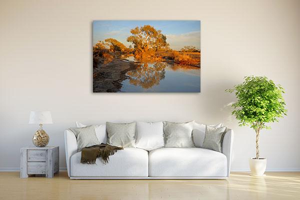 Birdsville Diamantina River Canvas Prints