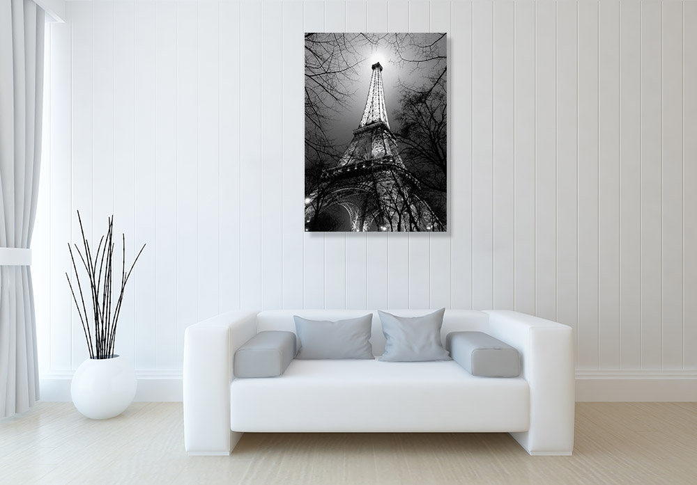Eiffel Tower Print on Canvas