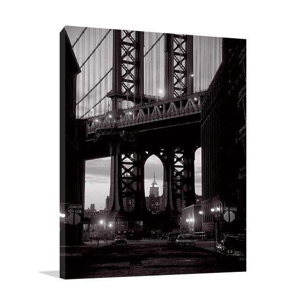 Manhattan Bridge Print on Canvas