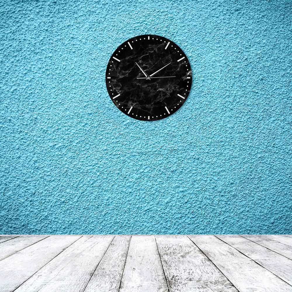 Silent Marble Minimalist Wall Clock Melbourne