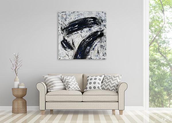 Brooke Howie | Black Strokes Wall Art