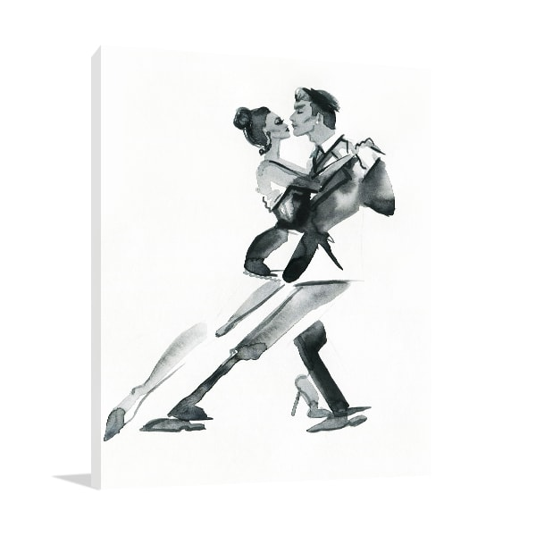 Black & White Dancer Wall Art