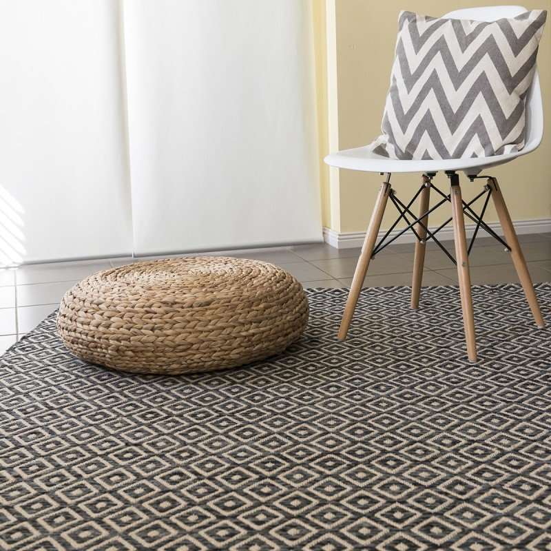 Diamond Black Rugs Online Perth