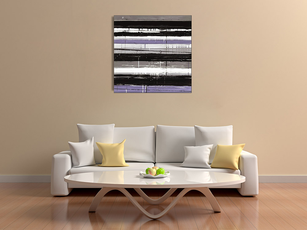 Modern Abstract Print on Canvas