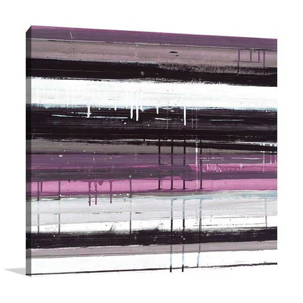 Blinds G Canvas Art Square Print