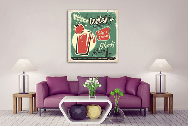 Bloody Mary Canvas Art