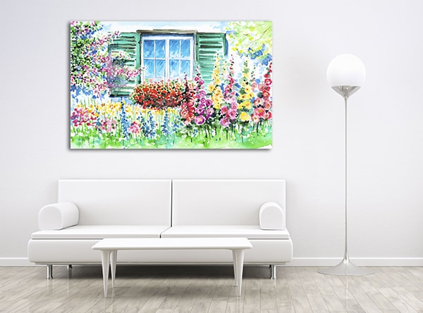 Bloomed Garden Print Artwork