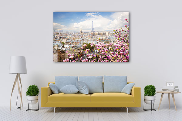 Blooming Magnolia Spring Tree Prints Canvas