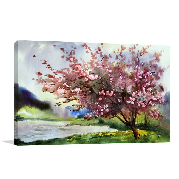 Blooming Tree Art Prints