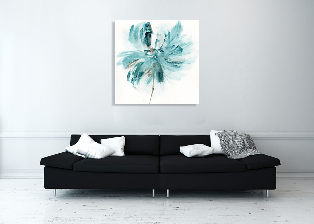 Square Contemporary Botanical Print