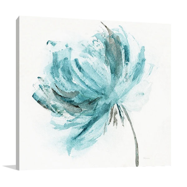 Blue Dance II Canvas Print | Katrina Craven