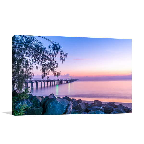 Blue Hour Hervey Bay Artwork