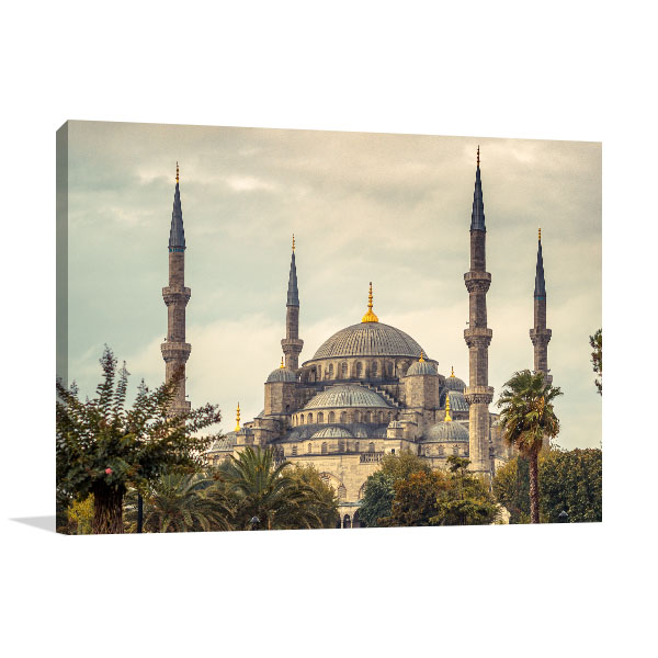 Blue Mosque Istanbul Wall Art