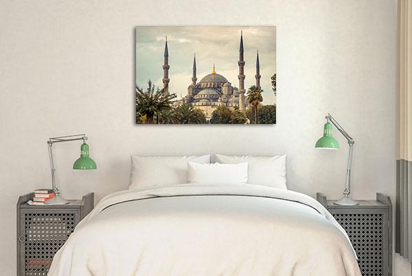 Blue Mosque Istanbul Canvas Art Prints