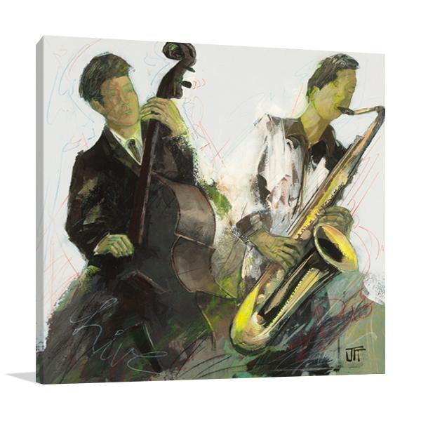 Blues Ben Wall Art Print