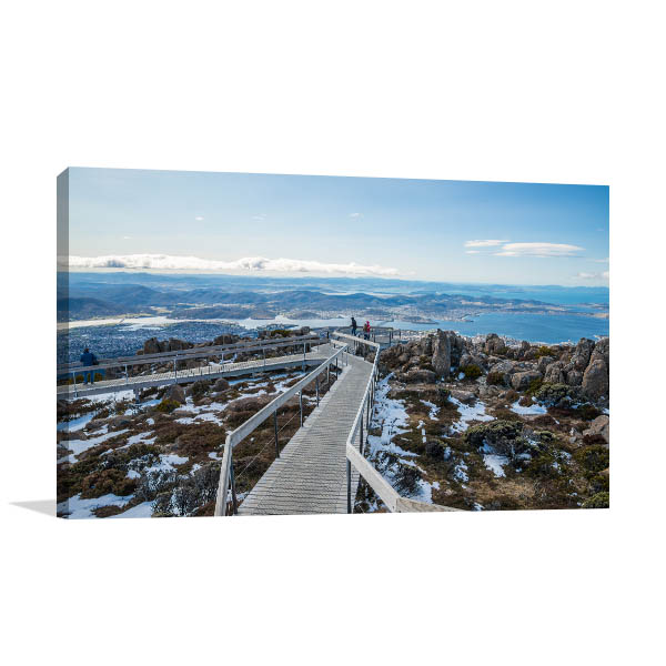 Boardwalk Summit Hobart Wall Art