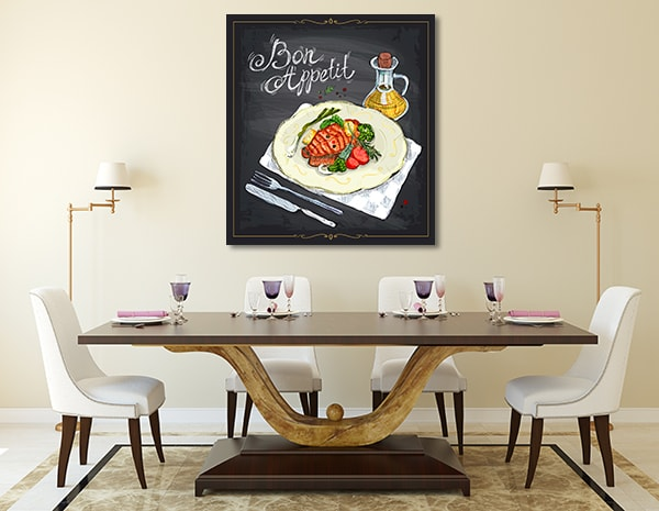 Bon Appetit Prints Canvas