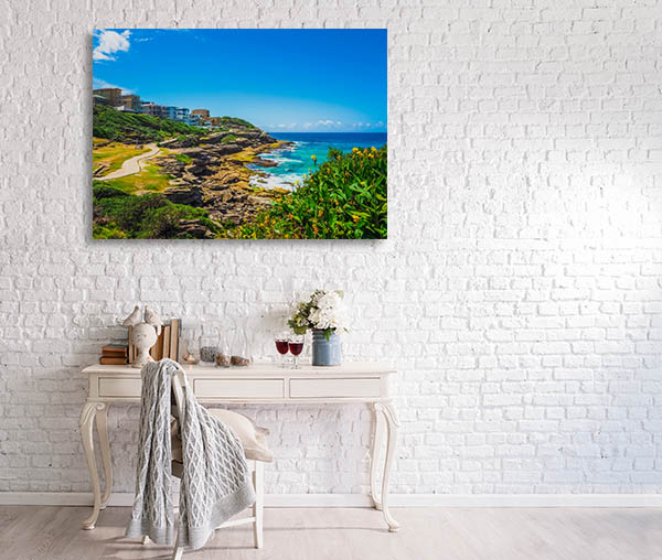 Bondi Art Print Coogee Beach Canvas Art