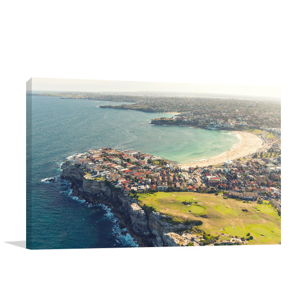 Bondi Beach Art Print Beautiful View