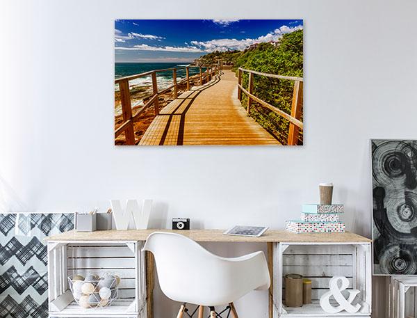 Bondi Beach Art Print Summer Sunshine Canvas Photo Print