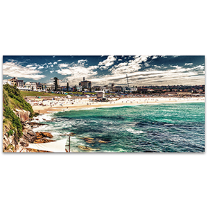 Bondi Beach Canvas Art Print