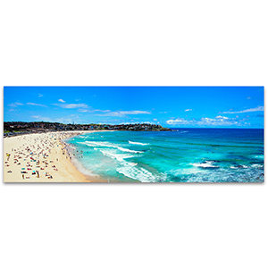 Bondi Beach Panorama Wall Art Print