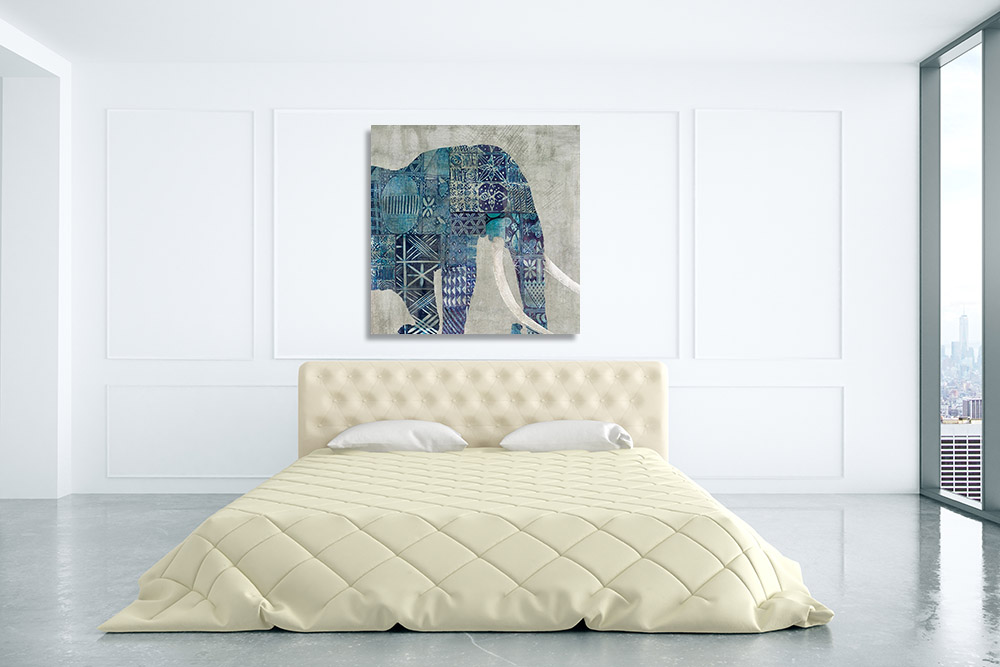 Contemporary Animal Art Print on Canvas