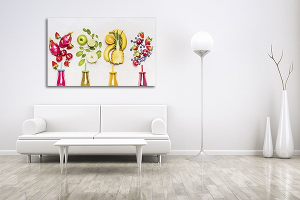 Bottles of Fruits Wall Art