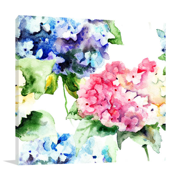 Bouquet Flowers Prints Canvas
