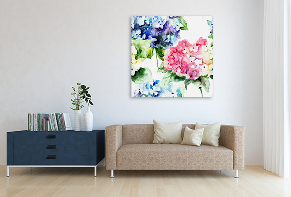 Bouquet Flowers Canvas Prints
