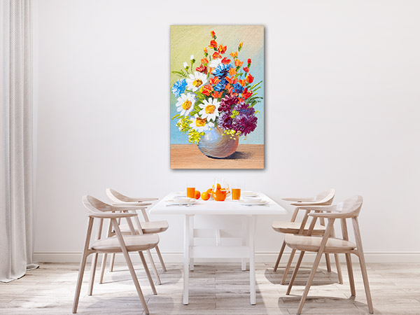 Bouquet of Flowers In A Vase Wall Art