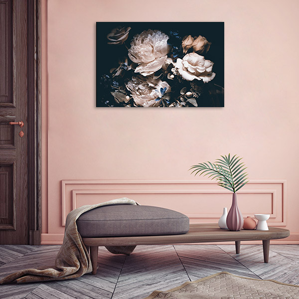 Bouquet of Pink Peonies Art Prints