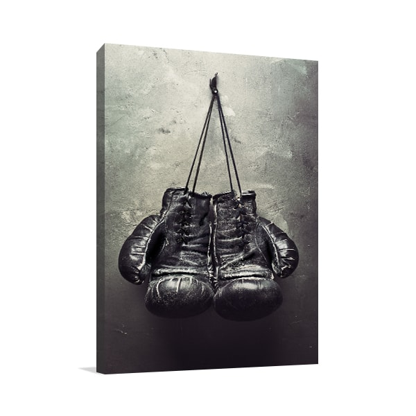 Boxing Gloves  Print Artwork