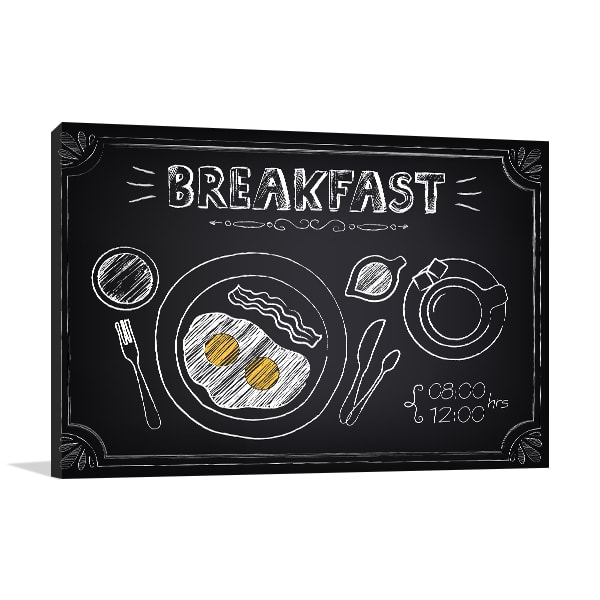 Breakfast on Board Art Prints