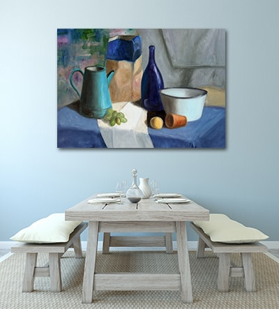 Breakfast Canvas Art