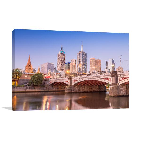 Bridge in Melbourne, Victoria Art Prints